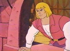 Rapunzel, digo, Príncipe Adam na Janela.