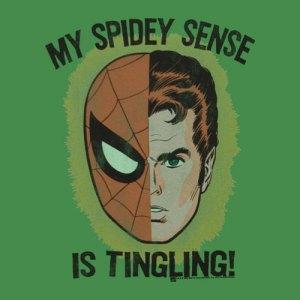 Meu sentido-aranha está me alertando de que algo está errado!