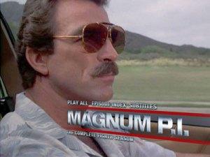 Magnum P.I., pegador escalavrado.